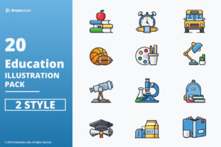 Education Vector Icons Pack Graphic By Icon Stale