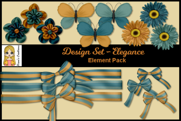 Elegance - Element Pack Graphic By Aisne
