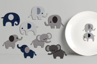 Elephants Graphic By Revidevi