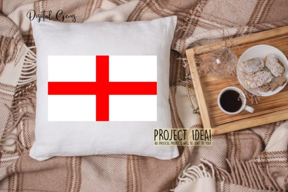 Download Free England Flag Design Graphic By Digital Gems Creative Fabrica for Cricut Explore, Silhouette and other cutting machines.