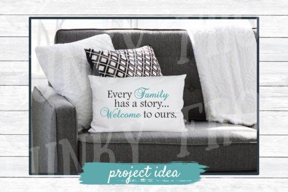 Download Free Every Family Has A Story Graphic By Funkyfrogcreativedesigns for Cricut Explore, Silhouette and other cutting machines.