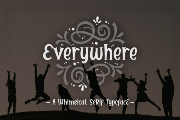 Everywhere Font By Dani (7NTypes) Image 1