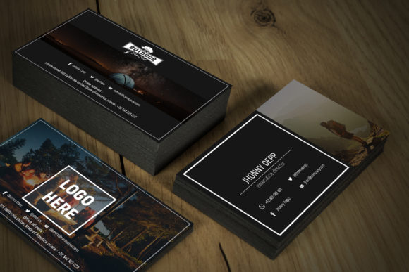 Exhale Business Card Templates Graphic By gumacreative Image 2