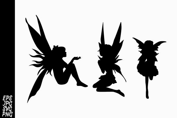 Download Free Fairy Silhouette Svg Bundle Graphic By Arief Sapta Adjie Ii SVG Cut Files