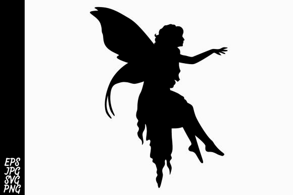 Print on Demand: Fairy Silhouette Graphic Crafts By Arief Sapta Adjie - Image 1