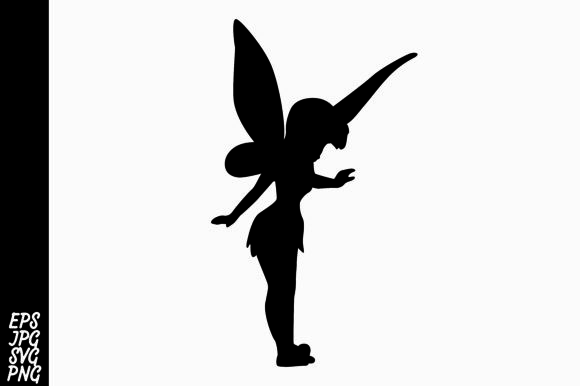 Print on Demand: Fairy Silhouette Graphic Crafts By Arief Sapta Adjie