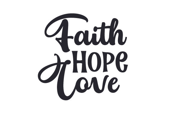 Download Free Faith Hope Love Svg Cut File By Creative Fabrica Crafts SVG Cut Files