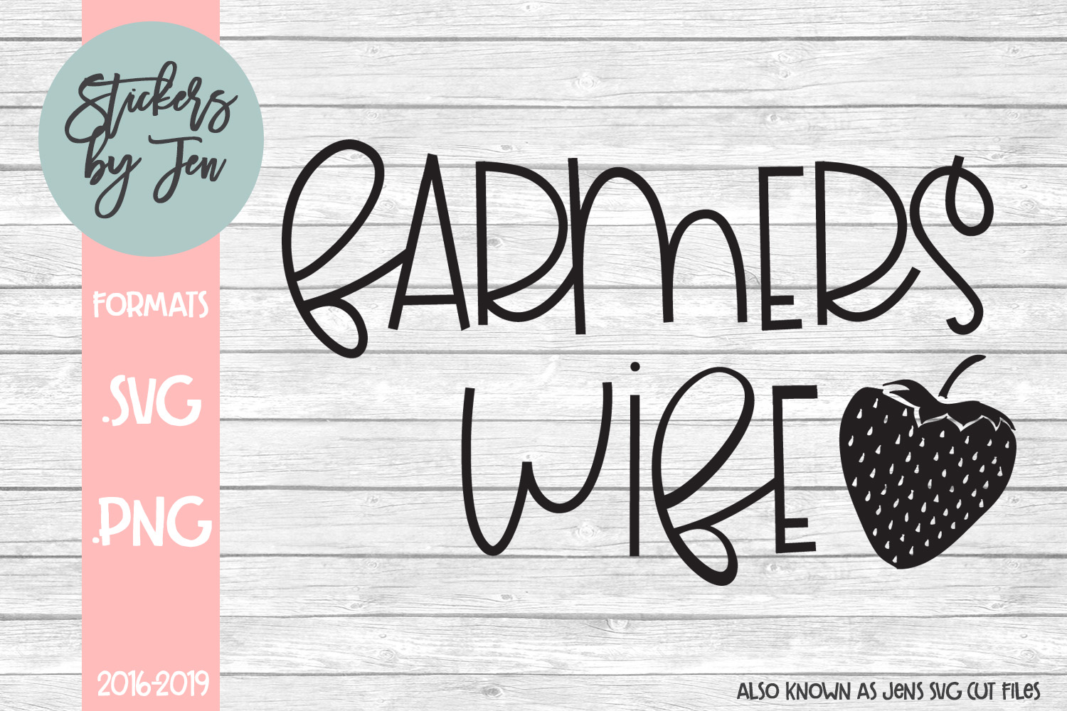 Download Free Farmer S Wife Svg Graphic By Stickers By Jennifer Creative Fabrica for Cricut Explore, Silhouette and other cutting machines.