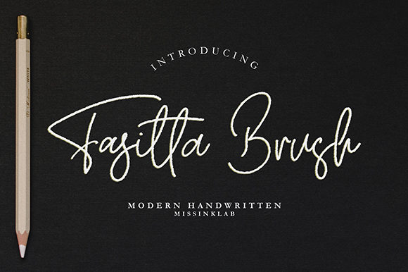 Print on Demand: Fasitta Script & Handwritten Font By missinklab