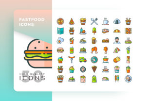 Fast Food Icon Graphic By Goodware.Std