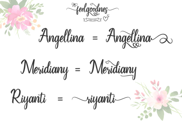 Feelgoodnes Font By kammaqsum Image 2