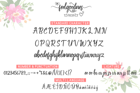 Feelgoodnes Font By kammaqsum Image 6