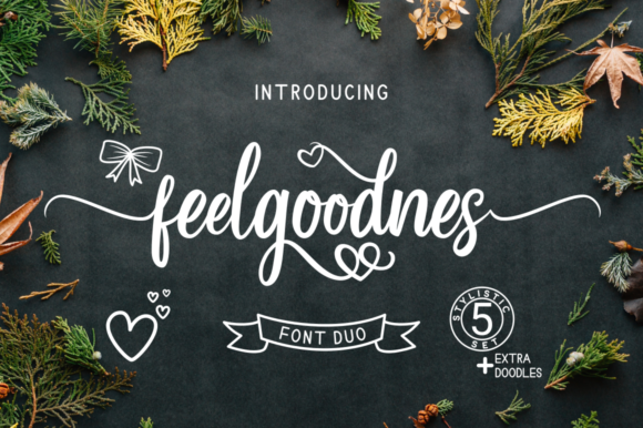 Print on Demand: Feelgoodnes Script & Handwritten Font By kammaqsum