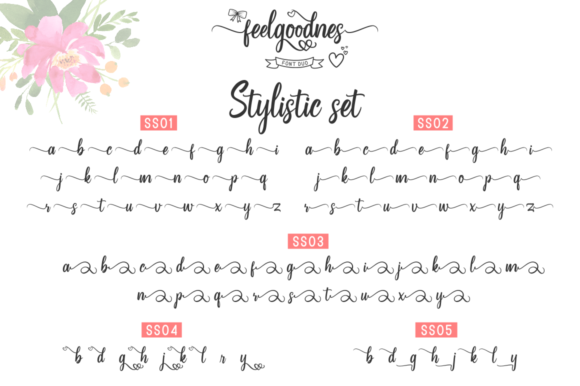Feelgoodnes Font By kammaqsum Image 7