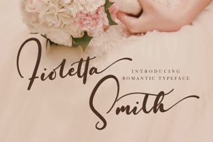 Fioletta Smith Font By missinklab