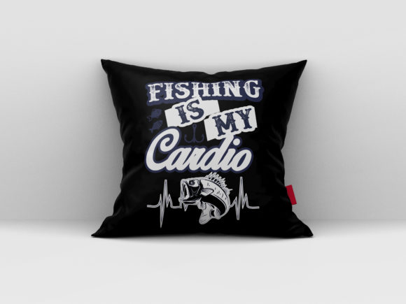 Download Free Fishing Is My Cardio T Shirt Design Graphic By Aartstudioexpo for Cricut Explore, Silhouette and other cutting machines.