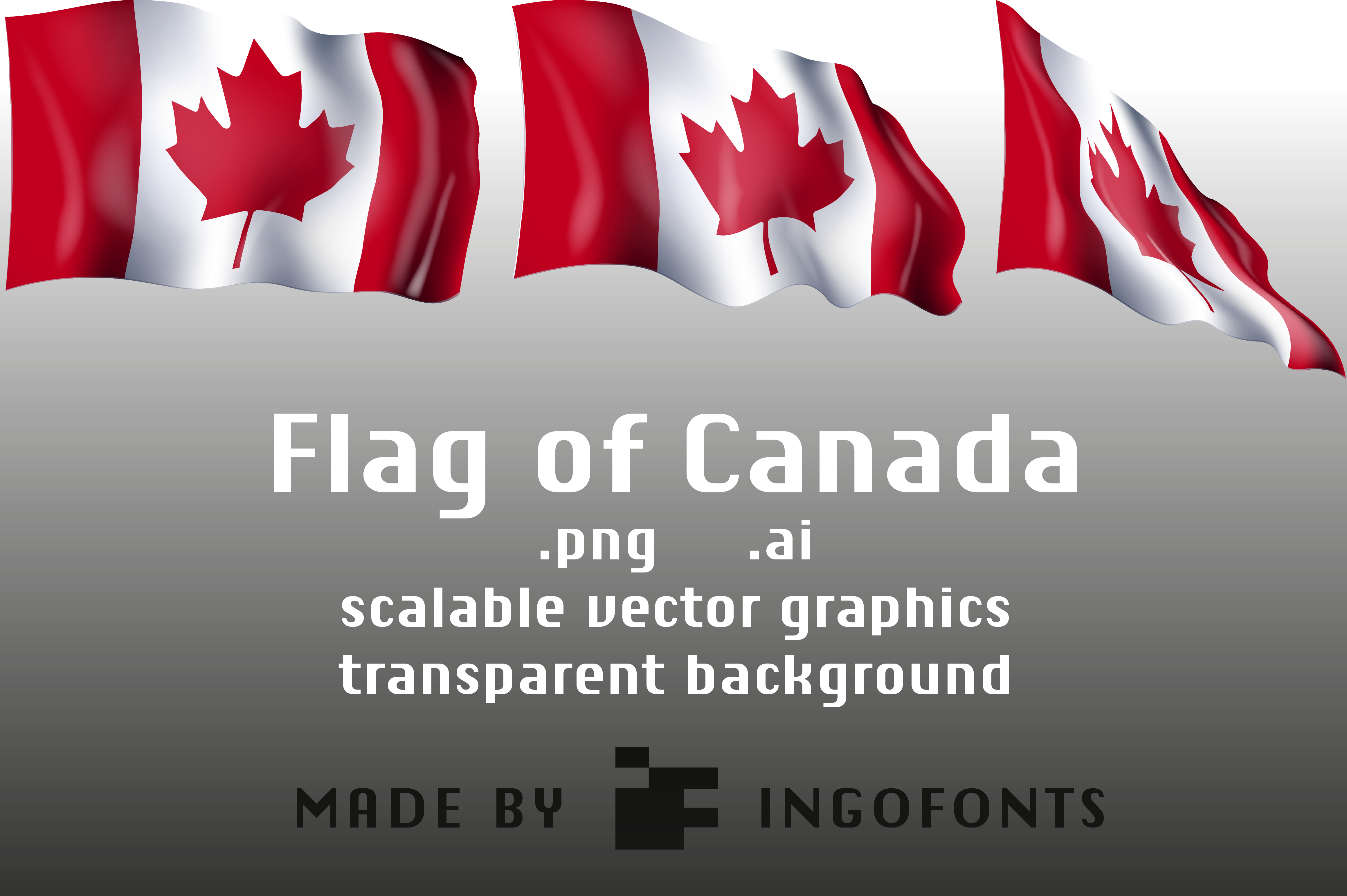 Download Free Flag Of Canada Graphic By Ingofonts Creative Fabrica for Cricut Explore, Silhouette and other cutting machines.