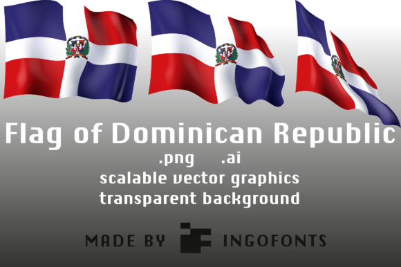 Download Free Flag Of Dominican Republic Graphic By Ingofonts Creative Fabrica SVG Cut Files