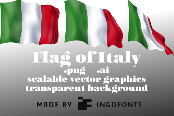 Download Free Flag Of Italy Grafik Von Ingofonts Creative Fabrica for Cricut Explore, Silhouette and other cutting machines.
