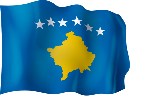 Download Free Flag Of Kosovo Graphic By Ingofonts Creative Fabrica for Cricut Explore, Silhouette and other cutting machines.