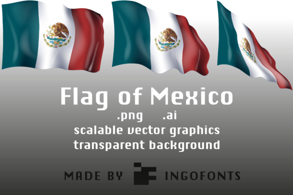 Download Free Flag Of Mexico Graphic By Ingofonts Creative Fabrica for Cricut Explore, Silhouette and other cutting machines.