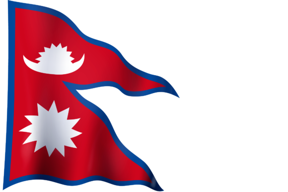 Flag Of Nepal Graphic By Ingofonts Creative Fabrica