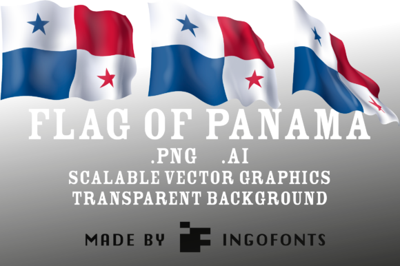Download Free Flag Of Panama Graphic By Ingofonts Creative Fabrica for Cricut Explore, Silhouette and other cutting machines.
