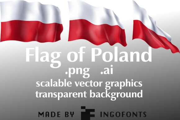 Download Free Flag Of Poland Grafico Por Ingofonts Creative Fabrica for Cricut Explore, Silhouette and other cutting machines.