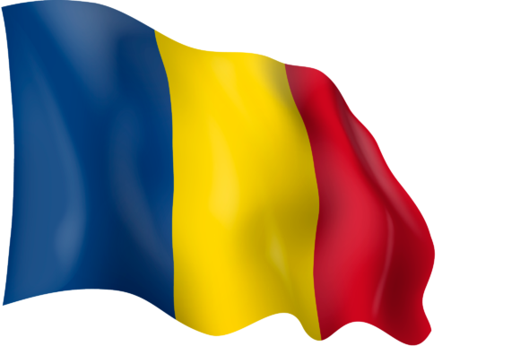 Download Free Flag Of Romania Grafico Por Ingofonts Creative Fabrica for Cricut Explore, Silhouette and other cutting machines.