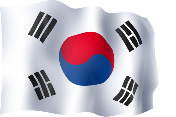Download Free Flag Of South Korea Grafico Por Ingofonts Creative Fabrica for Cricut Explore, Silhouette and other cutting machines.