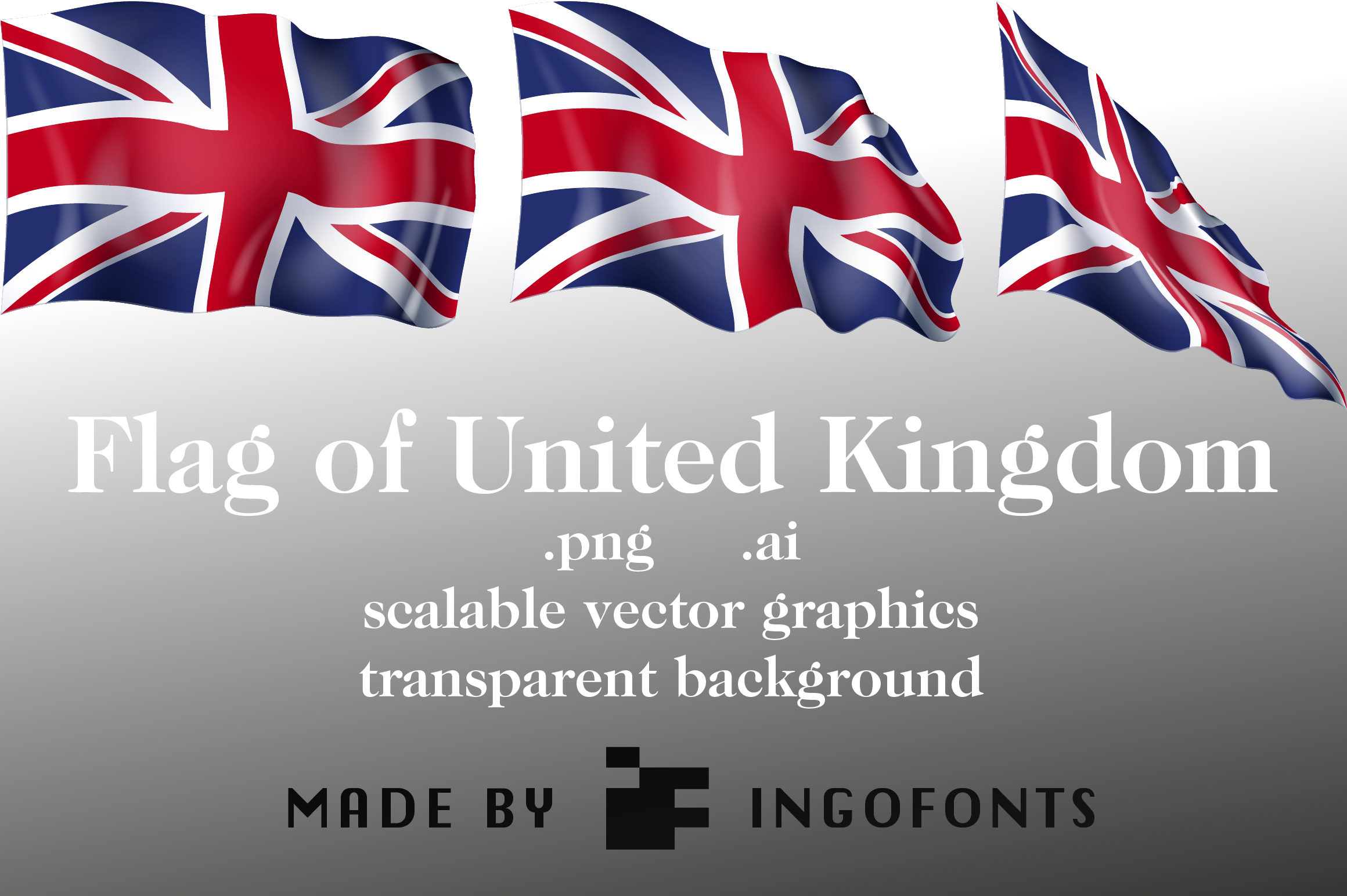 Download Free Flag Of United Kingdom Graphic By Ingofonts Creative Fabrica for Cricut Explore, Silhouette and other cutting machines.