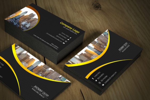 Flashy Business Card Templates