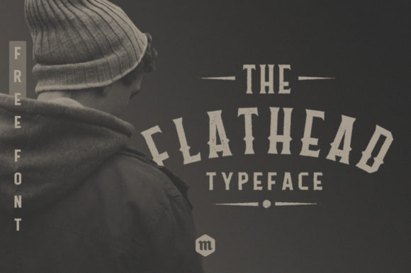 Flathead Sans Serif Font By Headfonts
