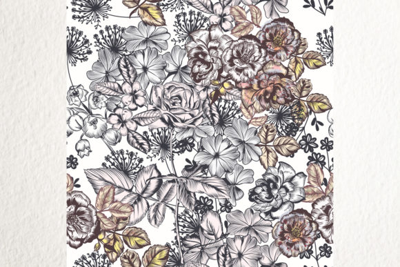Floral Mood- Seamless Vector Pattern 1