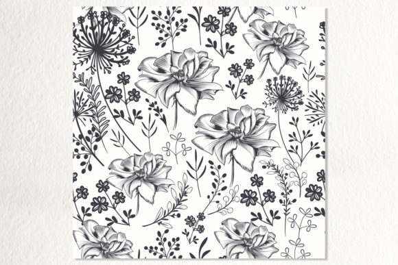 Floral Mood- Seamless Vector Pattern 3
