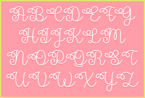 Print on Demand: Flower Shop Script & Handwritten Font By Misti - Image 3