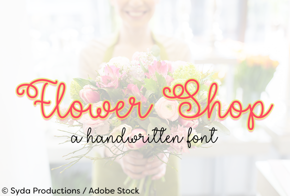 Print on Demand: Flower Shop Script & Handwritten Font By Misti - Image 1