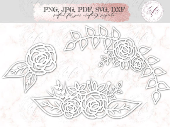 Download Free Floral Lace Cut File Graphic By Mysvgdesigns Creative Fabrica SVG Cut Files