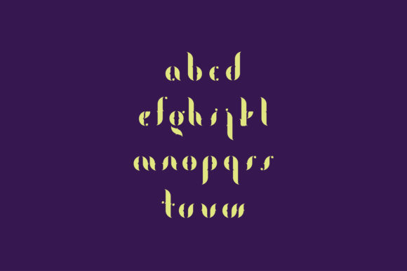 Print on Demand: Fogtype Display Font By Shoutbam - Image 5