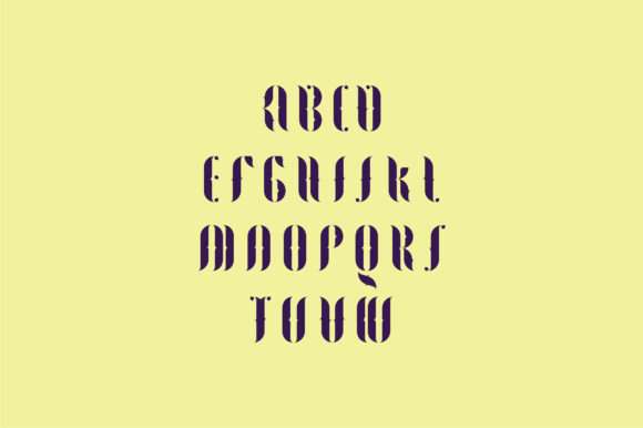 Print on Demand: Fogtype Display Font By Shoutbam - Image 6