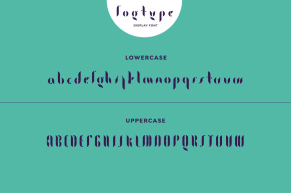 Print on Demand: Fogtype Display Font By Shoutbam - Image 8