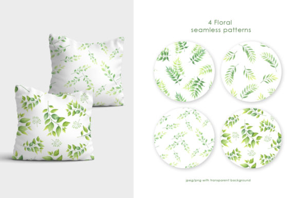 Print on Demand: Foliage Watercolor Collection Vol.1 Graphic Illustrations By Nata Art Graphic - Image 13