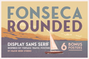 Fonseca Rounded Font By Nasir Udin