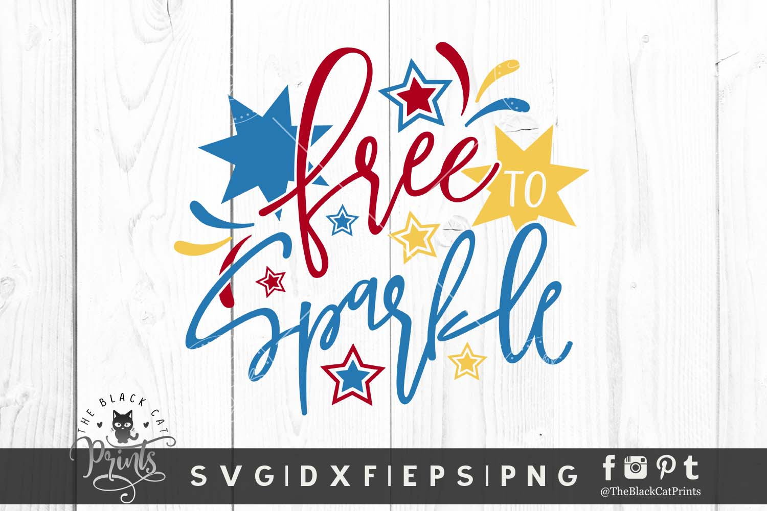 Download Free Free To Sparkle Graphic By Theblackcatprints Creative Fabrica for Cricut Explore, Silhouette and other cutting machines.
