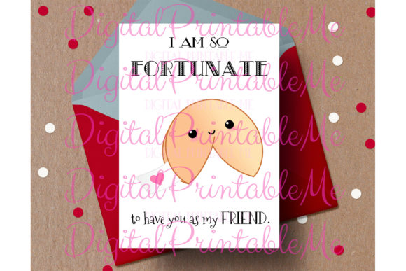 Friend Valentine Friendship Card Bff Graphic By DigitalPrintableMe