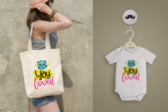 Funny Color with Quote Design Graphic By Skull and Rose