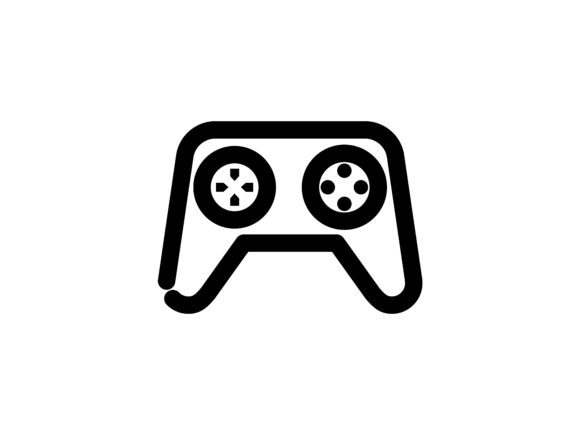 Game Pad Outline Vector Icon Graphic By tutukof