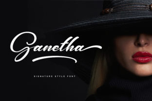 Ganetha Font By RezaDesign