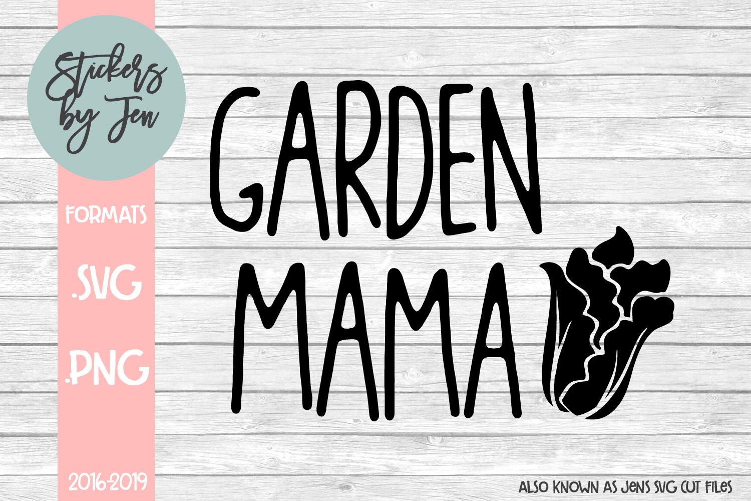 Download Free Garden Mama Graphic By Stickers By Jennifer Creative Fabrica for Cricut Explore, Silhouette and other cutting machines.