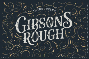 Gibsons Co Font By lickermelody